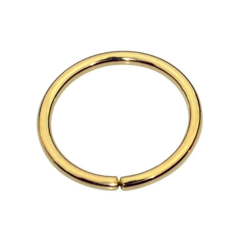 14K solid gold septum ring/cartilage earring/conch ring/nipple ring