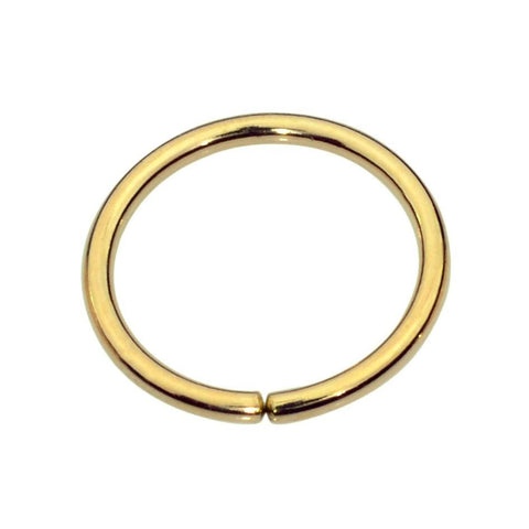 14K solid gold Belly Button Ring / Belly Button Piercing