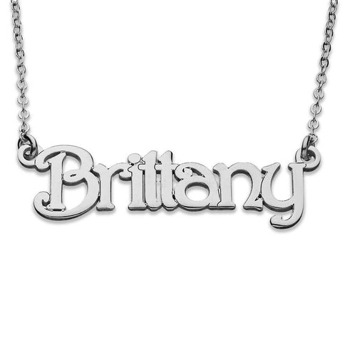 Pure 925 Sterling Silver - Personlized Name Necklace