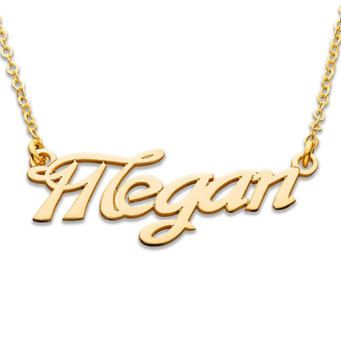 18K Gold Plating Personlized Name Necklace