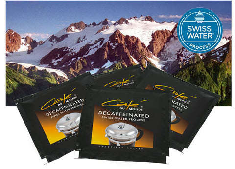 Decaffeinated Swiss Water Process Cafetière Sachets