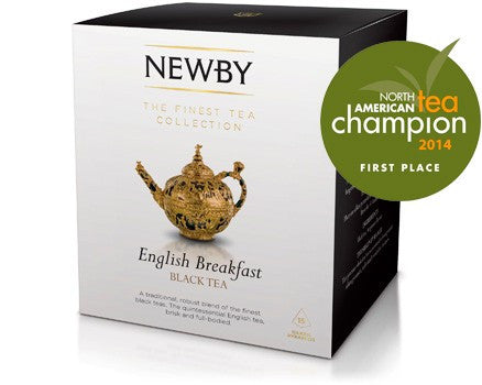 Newby English Breakfast 15 Pyramid Teabags