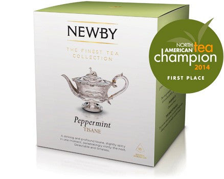 Newby Peppermint 15 Pyramid Teabags