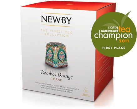 Newby Rooibos Orange 15 Pyramid Teabags