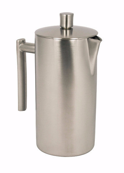 Horwood Brushed Stainless Steel Cafetière <br/>(Double Walled)