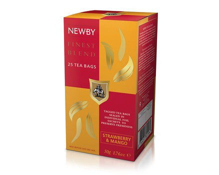Newby Strawberry & Mango