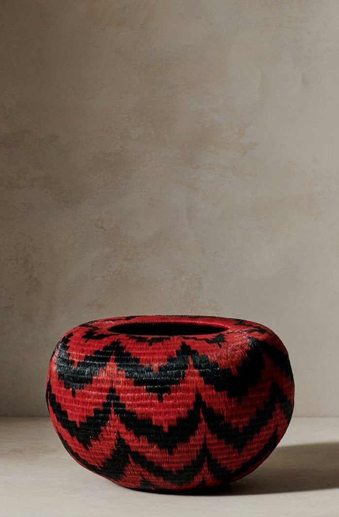 Crucelina Chocho Opura Basket Seven Red and Black