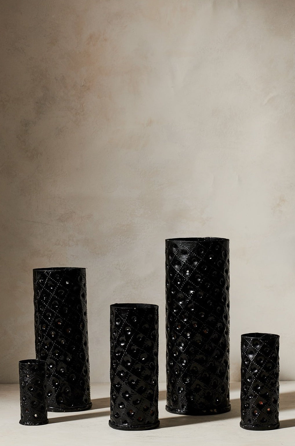 Metal Votives Black