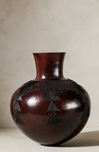 Jabulile Nala Ceramic Pot One Brown