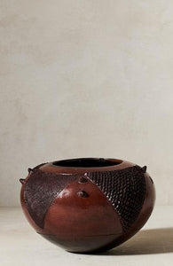 Jabulile Nala Ceramic Pot Four Brown