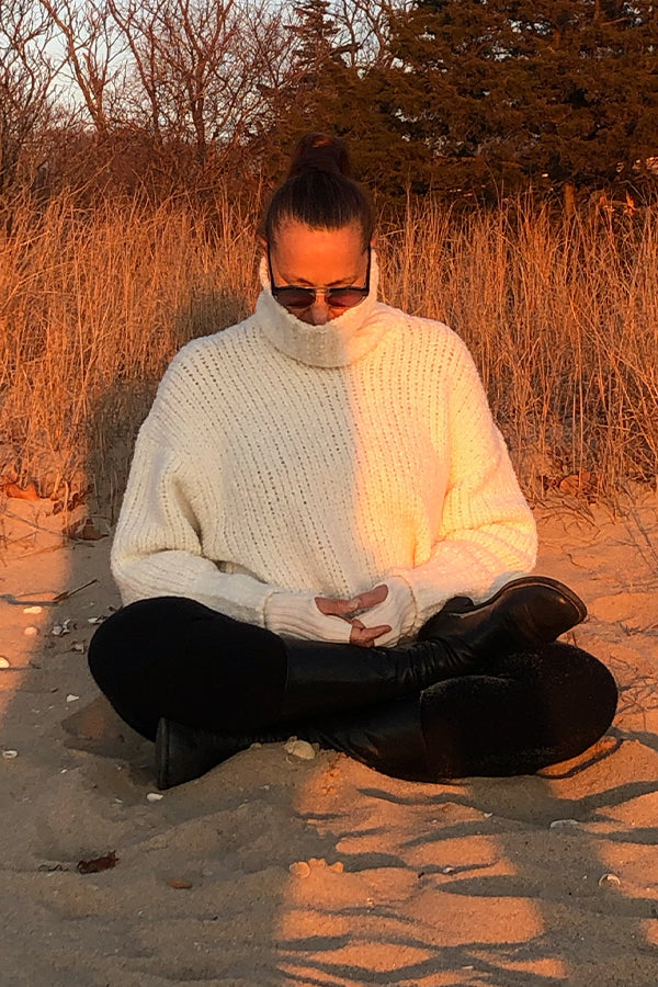Bonnie Young Cashmere Turtleneck