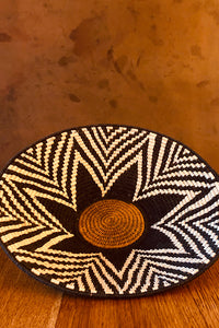 Colombian Large Woven Tray Multicolor O/S