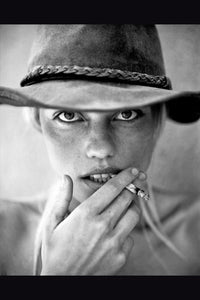 The Cowgirl by Gigi Stoll Black and White