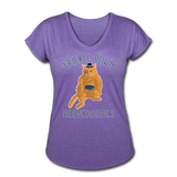Meowconomics Shirt - purple heather