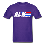 GI JOE inspired BLM Tee - purple