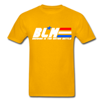 GI JOE inspired BLM Tee - gold