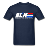 GI JOE inspired BLM Tee - navy