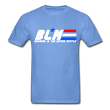 GI JOE inspired BLM Tee - carolina blue