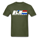 GI JOE inspired BLM Tee - military green