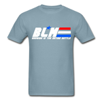 GI JOE inspired BLM Tee - stonewash blue