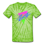 Shut Up Shirt - spider lime green