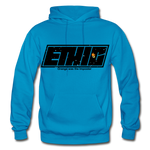 Ethic Logo Pull Over - turquoise
