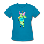Feminine Little Dark Lord Shirt - turquoise