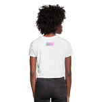Lost Souls Cropped T-Shirt - white