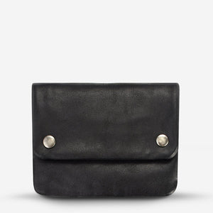 Status Anxiety Norma Wallet - Black