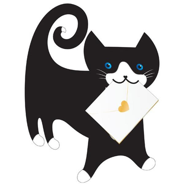 Cat Tommo Greeting Card - Special Delivery