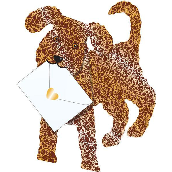 Dog Coco Greeting Card - Special Delivery