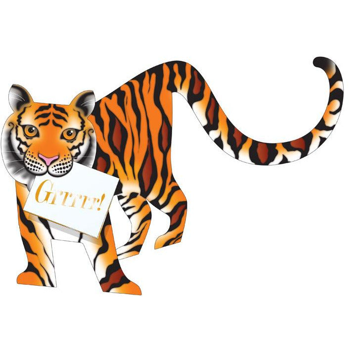 Tyger Tiger Greeting Card - Special Delivery