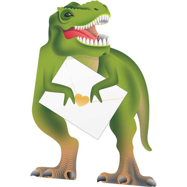T-Rex Greeting Card - Special Delivery