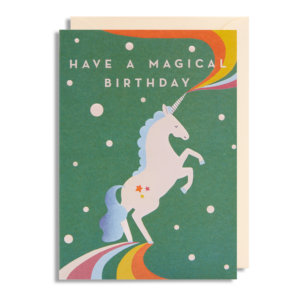 Magical Birthday Greeting Card - Lagom Design by Cherished