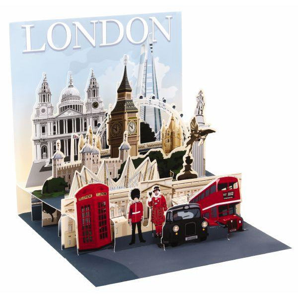 London Scene Greeting Card - Up With Paper