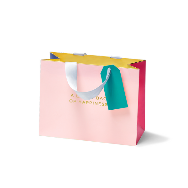 A Little Bag Of Happiness, Small Gift Bag - Lagom Design by Cherished