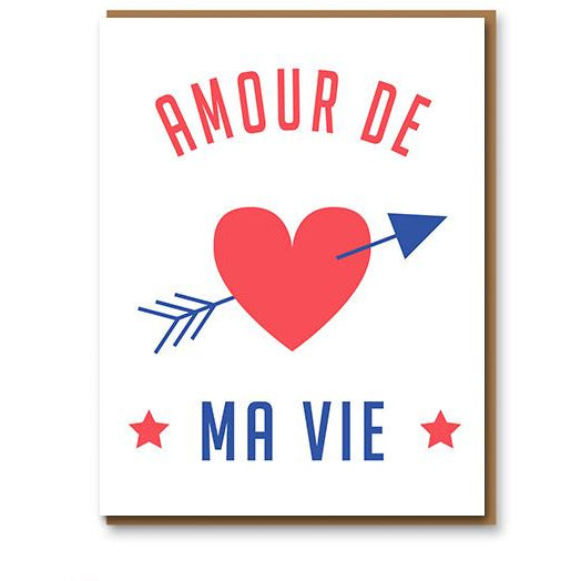 Amour de ma vie Greeting Card - 1973