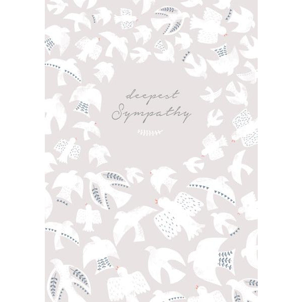 Deepest Sympathy Greeting Card - The Art File