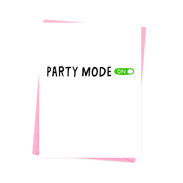 party mode click is on. base white