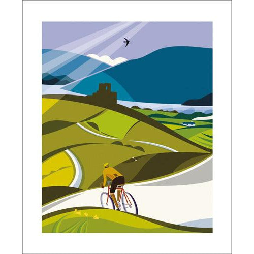 Lost Lanes Wales Card - Art Angels by Andrew Pavitt.