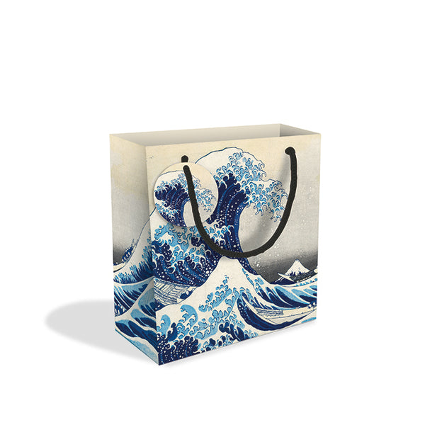 The Great Wave Small Gift Bag - Museums And Galleries (Pack of 8)