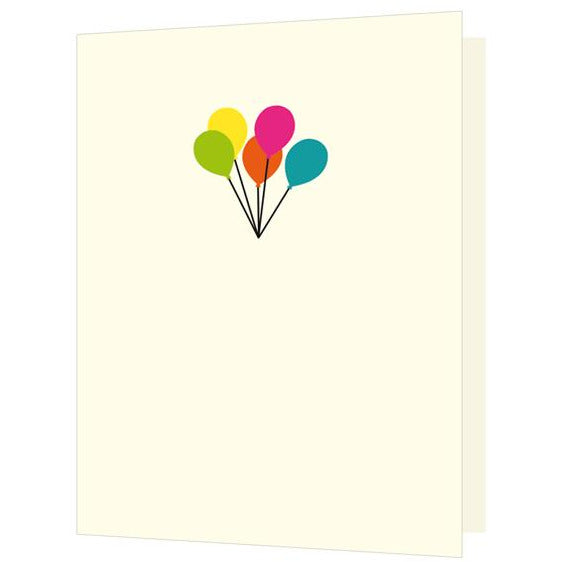 Balloons, Mini Card - The Art File