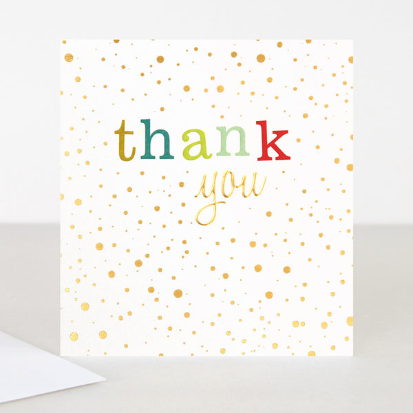 Thank You Card Greeting Card -Caroline Gardner