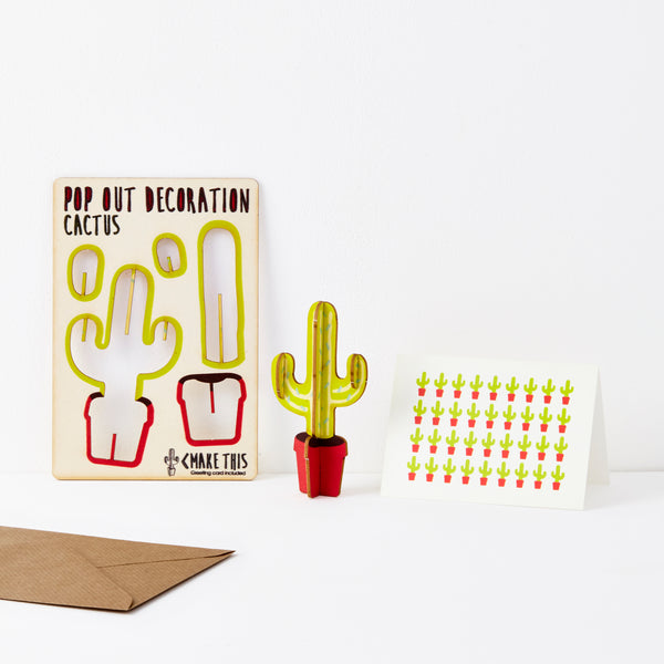 Cactus  - The Pop Out Card Co.