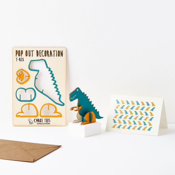 T-Rex - The Pop Out Card Co.