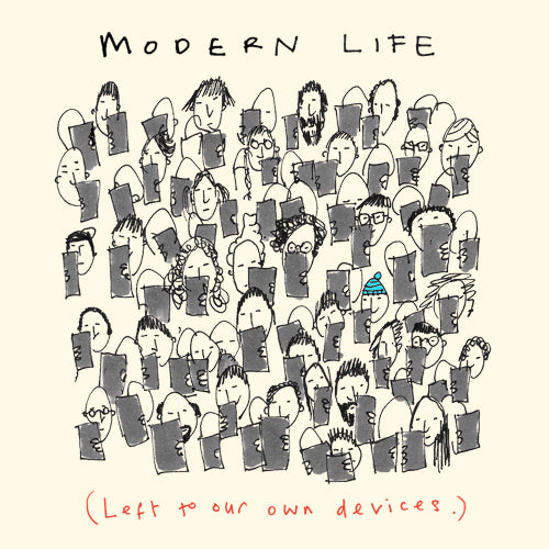 Modern Life / Devices Greeting Card - Poet and Painter