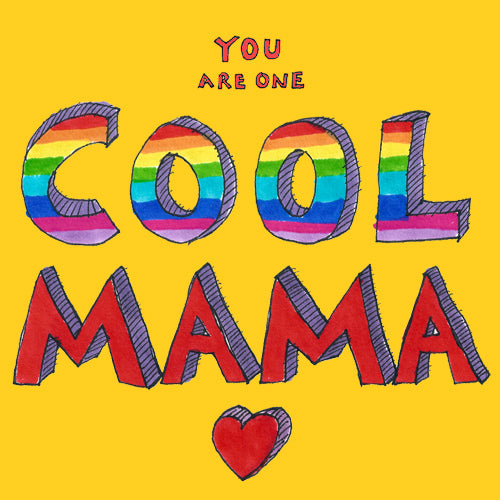 Cool Mama Greeting Card - Poet and Painter