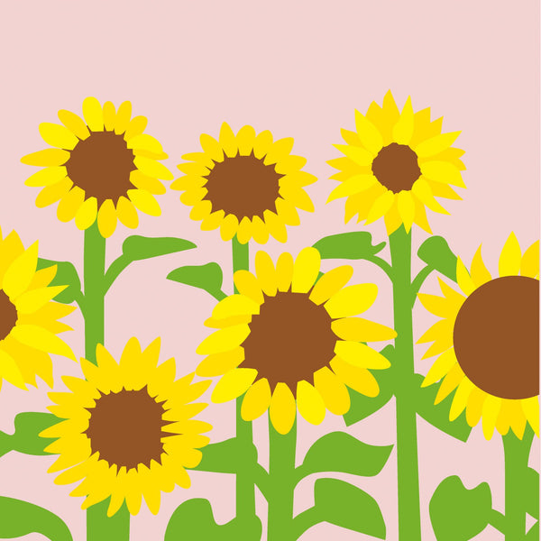 2-to Tango Pop-Up Card -  Sunflowers     A beautifully handcrafted pop-up card created by one of the world's foremost paper engineers Maike Biederstadt, featuring a stunning sunflowers meadow. This keepsake card is sure to be treasured long after the occasion intended.
