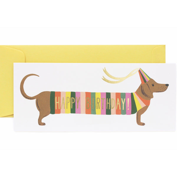 Hot Dog Birthday Card - Rifle Paper