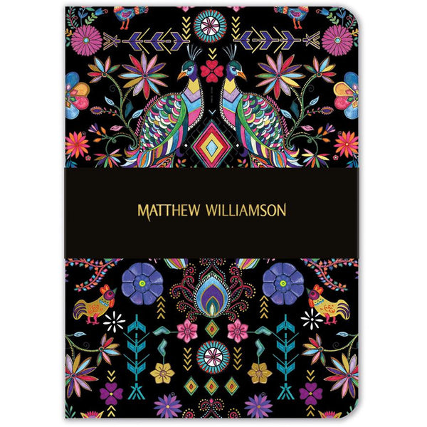 Pampas Peacock Notebook - Museums And Galleries by Matthew Williamson
